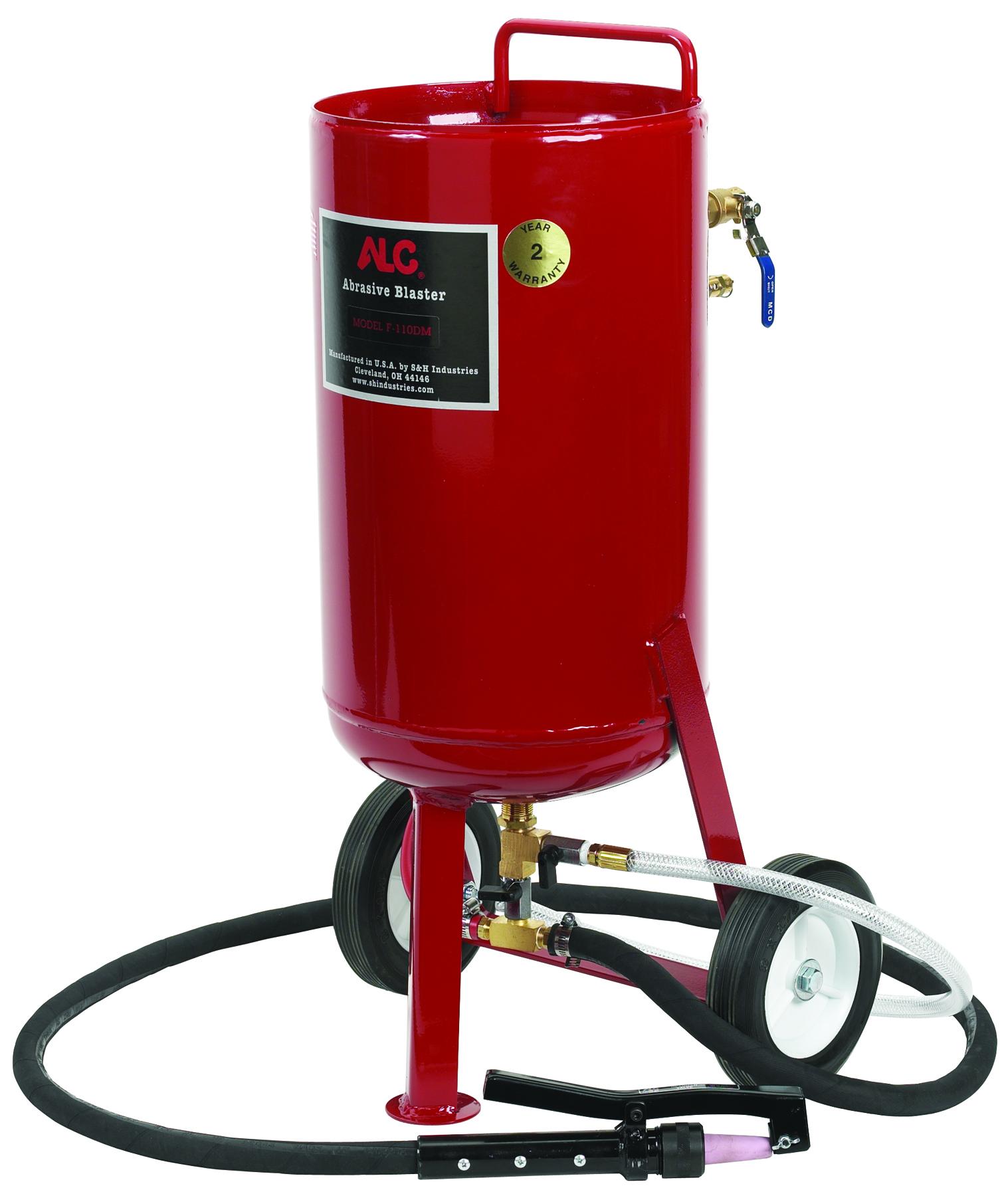 110 lb Pressure Blaster Kit and the Soda Blaster Attachment